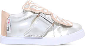 Sophia Webster Bibi mirrored-leather trainers 2-8 years
