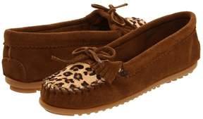 Minnetonka Leopard Kilty Moc Women's Moccasin Shoes