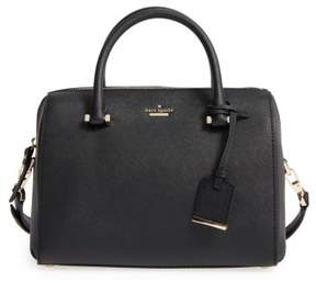 Kate Spade New York Cameron Street Large Lane Leather Satchel - Black