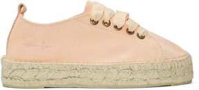 Manebi Pink Hamptons Double Sneaker Espadrilles