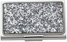 Kate Spade Simply Sparkling Business Card Holder - SILVER - STYLE