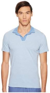 Orlebar Brown Felix Narrow Stripe Polo Men's Clothing