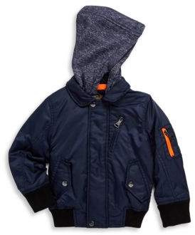 Urban Republic Little Boy's & Boy's Twill Hooded Jacket