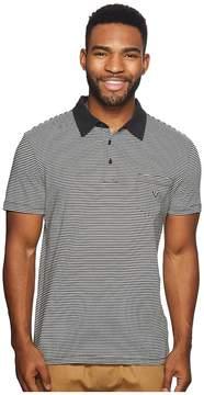 VISSLA Spokes Polo Top Men's Clothing