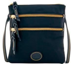 Dooney & Bourke Nylon North South Triple Zip Shoulder Bag - BLACK BLACK - STYLE