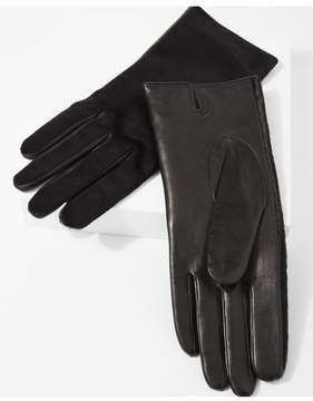 7 For All Mankind | Amato Calf Hair Short Gloves In Black | L