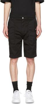 Helmut Lang Black Utility Shorts