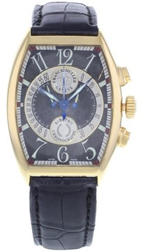 Franck Muller Master Of Complications 7850 CC B 18K Rose Gold Automatic 34mm Mens Watch