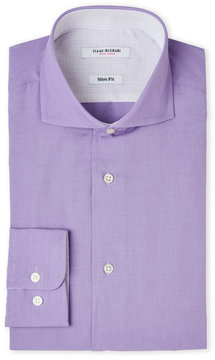 Isaac Mizrahi Lavender Slim Fit Dress Shirt