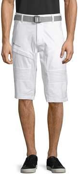 ProjekRaw PROJEK RAW Men's Belted Stretch Shorts
