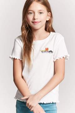 Forever 21 Girls Powerpuff Girls Graphic Top (Kids)