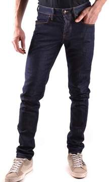 Siviglia Men's Blue Cotton Jeans.