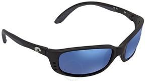 Costa del Mar Brine Blue Mirror 580P Wrap Sunglasses BR 11 OBMP