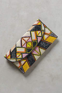 Anthropologie Geometric Envelope Clutch