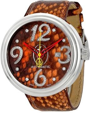 Jacob & co Valentin Yudashkin Orange Dial Automatic Men's Watch