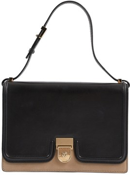 Victoria Beckham Black Leather Handbag