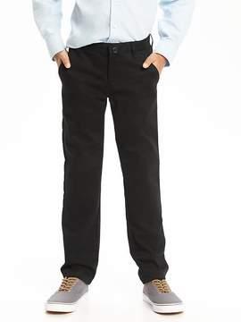 Old Navy Flat-Front Skinny Uniform Khakis for Boys