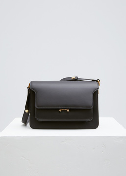 Marni black trunk shoulder bag