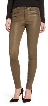 AG Jeans Women's The Farrah High Waist Skinny Leather Pants