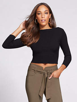 New York & Co. Gabrielle Union Collection - Crop Sweater