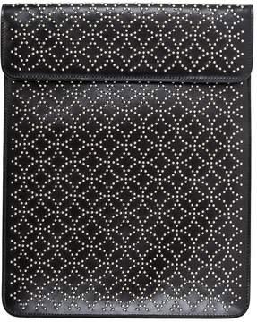 Alaia Black Leather Clutch Bag
