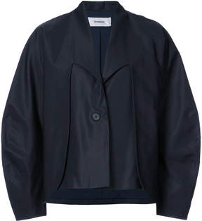 Chalayan Double Layer Curved Sleeve jacket