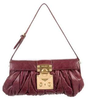 Miu Miu Small Matelassé Flap Bag