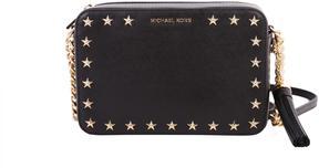 MICHAEL Michael Kors Ginny Leather Bag - BLACK - STYLE