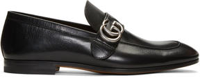 Gucci Black Donnie Loafers