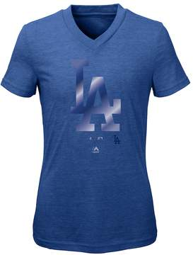Majestic Girls 7-16 Los Angeles Dodgers Slider Tee