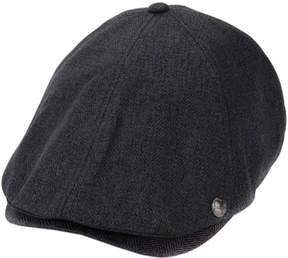 Perry Ellis Men's Herringbone Driving Cap