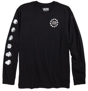 Vans Boy's X Peanuts Snoopy'S Brothers Long Sleeve T-Shirt