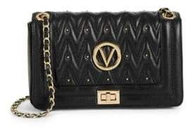 Mario Valentino Aliced Quilted Leather Crossbody Bag
