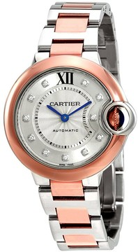 Cartier Ballon Bleu Silver Dial Ladies Watch