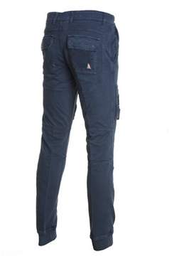 Aeronautica Militare Men's Blue Cotton Pants.