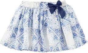 Osh Kosh Oshkosh Bgosh Girls 4-8 Floral Bow Skirt