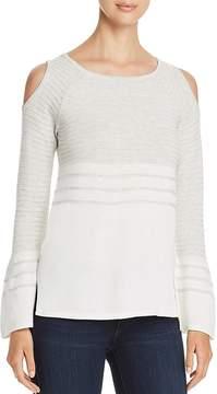 Design History Cold-Shoulder Sweater