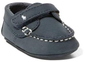 Ralph Lauren Captain Leather Ez Loafer Navy 0 (0-6Wks)