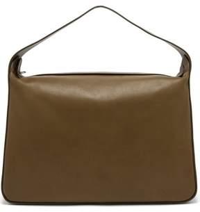 The Row New Hobo Leather Bag - Womens - Khaki