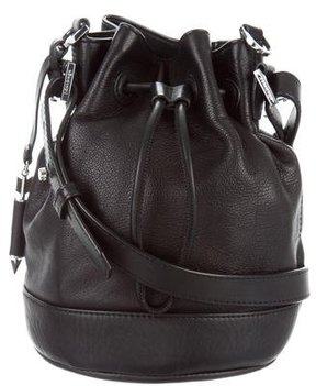 Mackage Leather Drawstring Bag