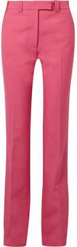 Calvin Klein Striped Cady Slim-leg Pants - Pink