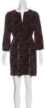 BA&SH Velvet Mini Dress