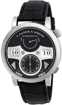 A. Lange & Söhne A. Lange and Sohne Zeitwerk Striking Time 18K White Gold Men's Watch