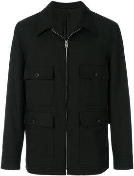 Lemaire zipped up shirt jacket