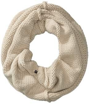 Plush Fleece-Lined Chunky Knit Neck Warmer Scarves