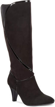 Karen Scott Mailaa Wide-Calf Dress Boots, Created for Macy's Women's Shoes