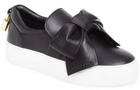 Buscemi Women's Bow Slip-On Sneaker