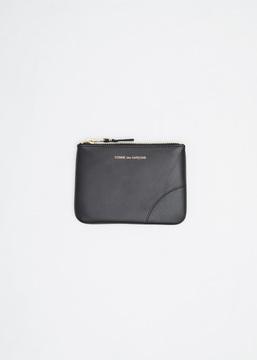 Comme des Garcons WALLET black classic leather pouch
