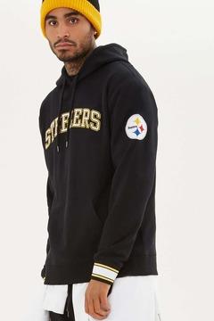 21men 21 MEN NFL Steelers Fleece Hoodie