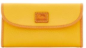 Dooney & Bourke Patterson Leather Continental Clutch Wallet - DANDELION - STYLE